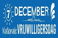 7 december: Nationale Vrijwilligersdag